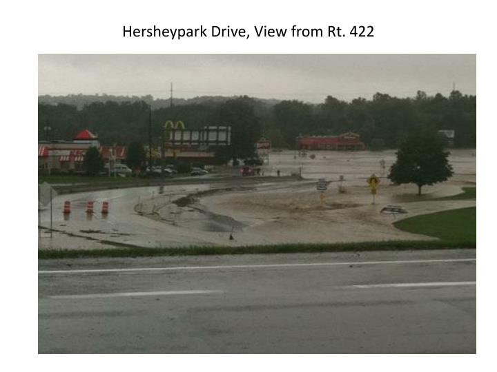 Hersheypark Drive, View from Rt. 422