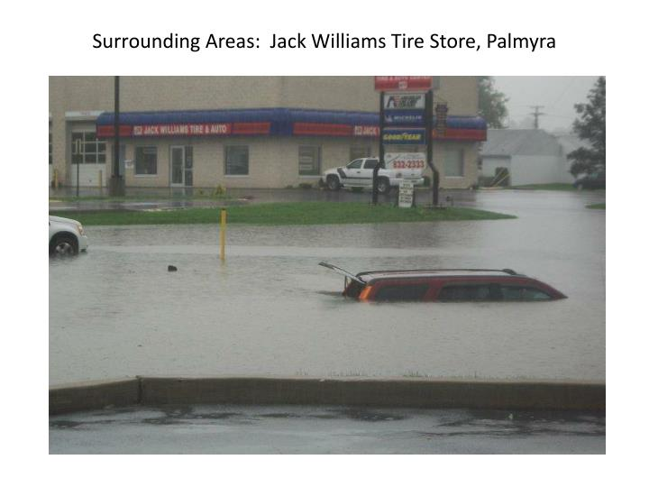 Surrounding Areas:  Jack Williams Tire Store, Palmyra