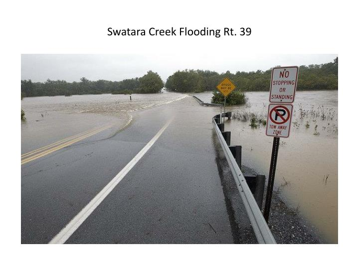 Swatara Creek Flooding Rt. 39