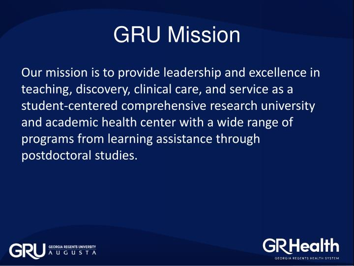 GRU Mission