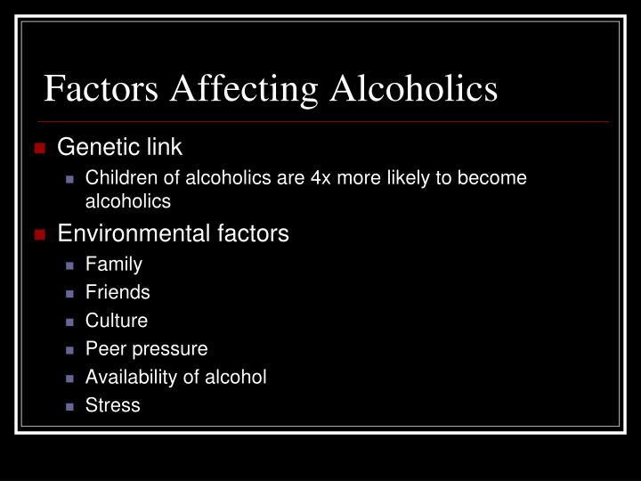 an in depth analysis of the psychological and physical dependence of an alcoholic 2015-07-19 research research into the problems faced by children of parents with alcohol problems is necessary to increase understanding of the nature of this issue and to find out what can help, in turn influencing policy and services.