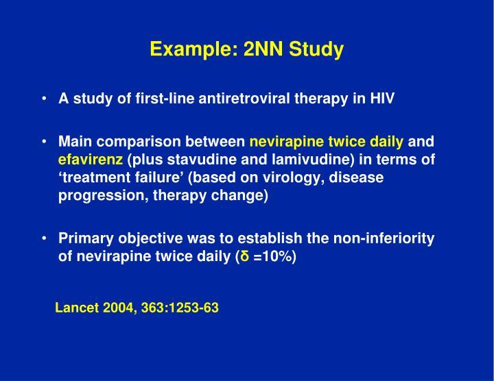 Example: 2NN Study