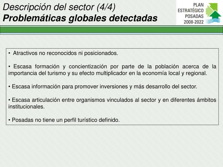 Descripción del sector