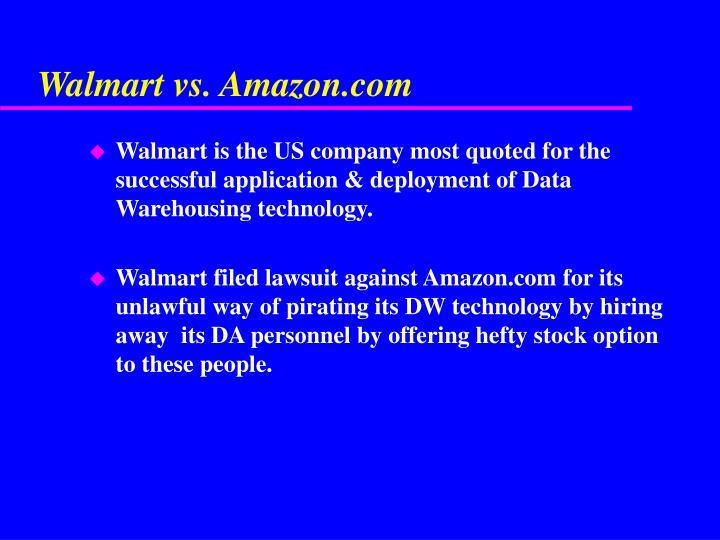 Walmart vs. Amazon.com