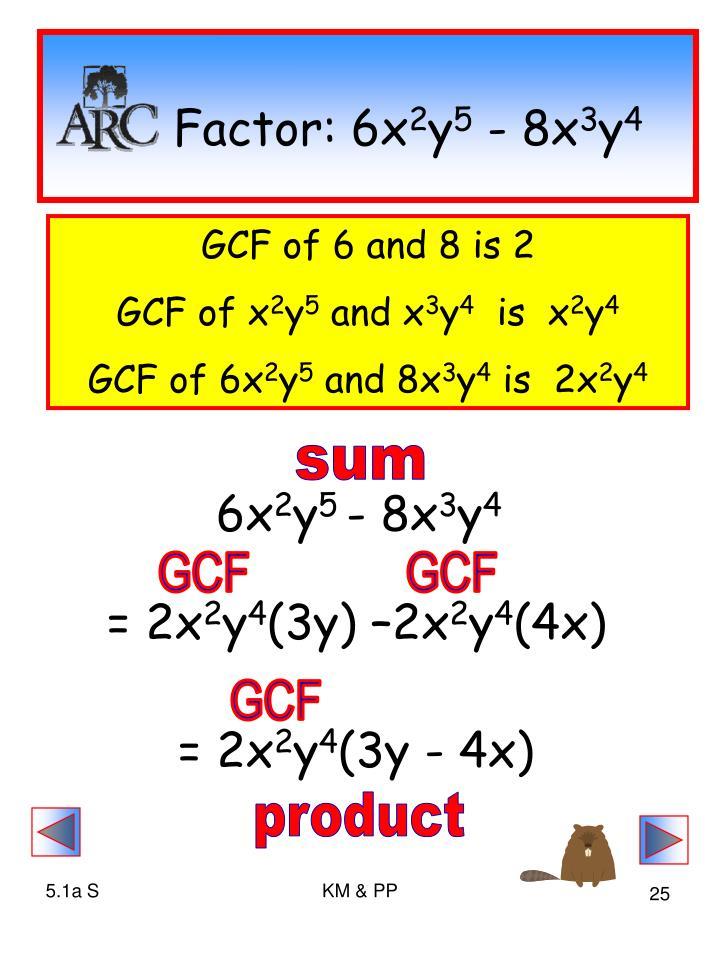 Factor: 6x