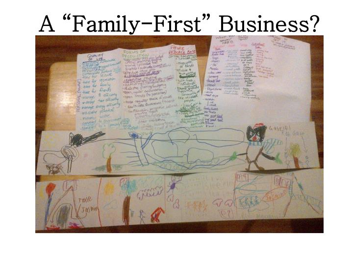"""A """"Family-First"""" Business?"""