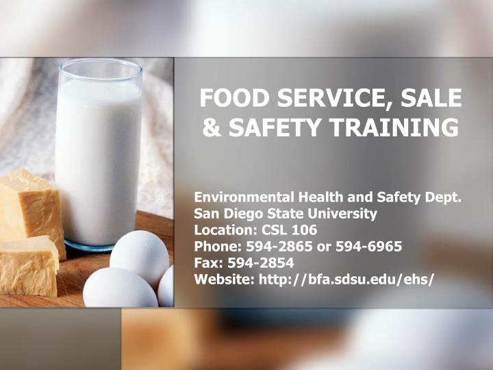 saftey training in food service Housemade pickles are the third most popular restaurant condiment trend and the twelfth most popular food trend overall, according to the national restaurant association's 2018 what's hot culinary survey keep your vegetables safe during the pickling process to successfully execute food safety.