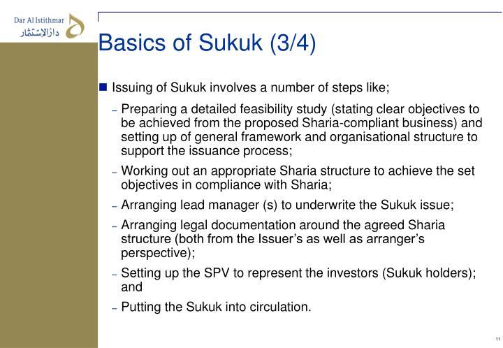Basics of Sukuk (3/4)