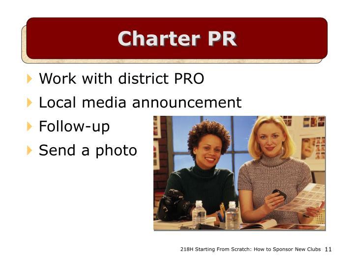 Charter PR