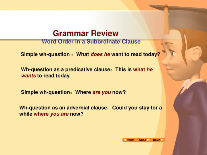 Grammar Review