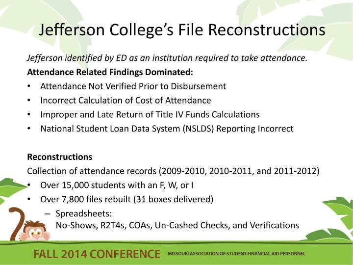 Jefferson College's File