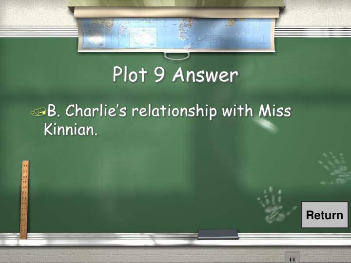 Plot 9 Answer