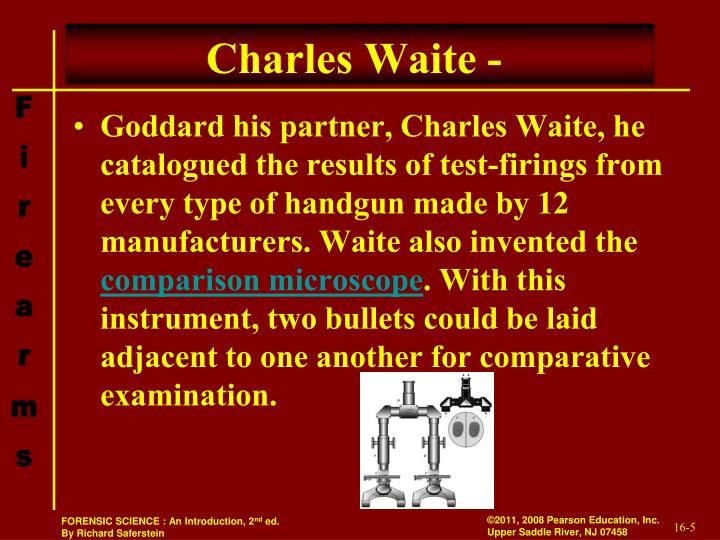 Charles Waite -