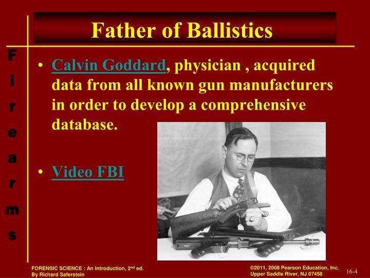 Father of Ballistics