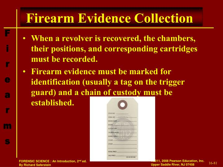Firearm Evidence Collection