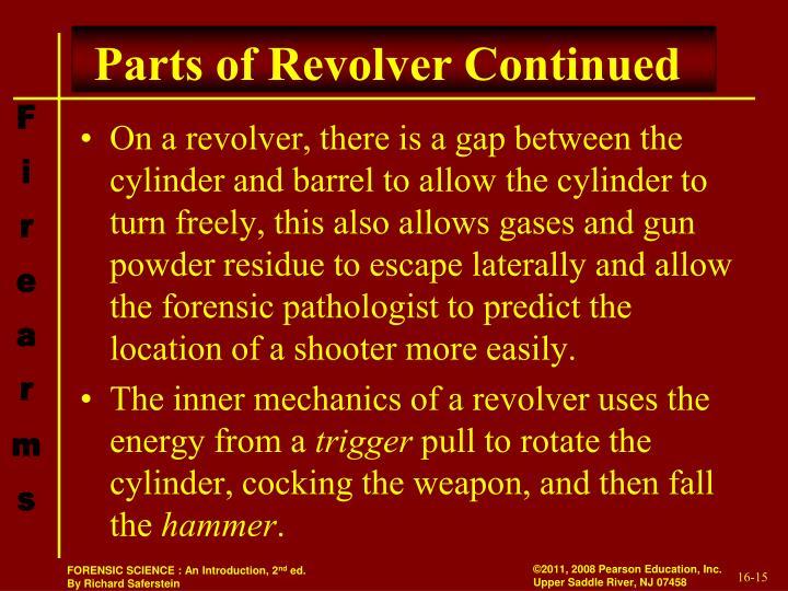 Parts of Revolver Continued