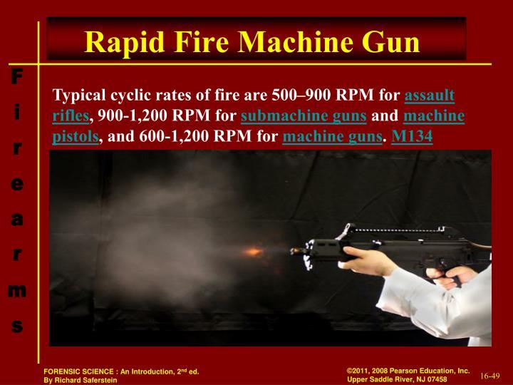 Rapid Fire Machine Gun