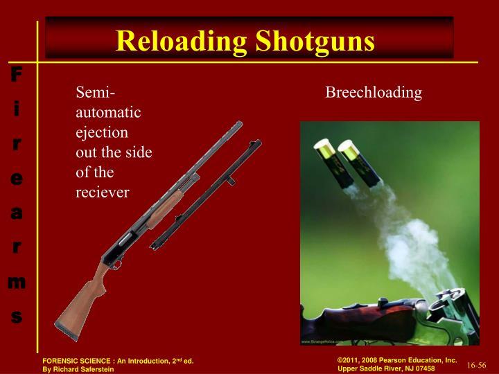 Reloading Shotguns