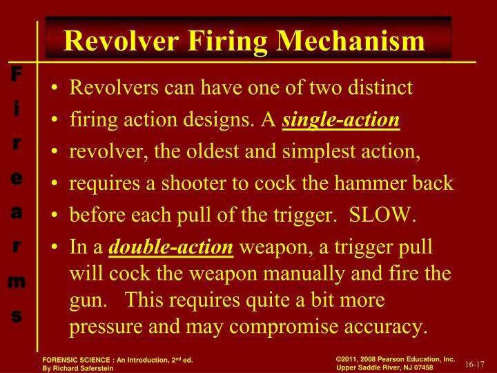 Revolver Firing Mechanism