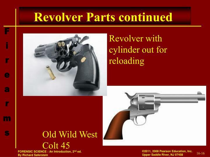 Revolver Parts continued