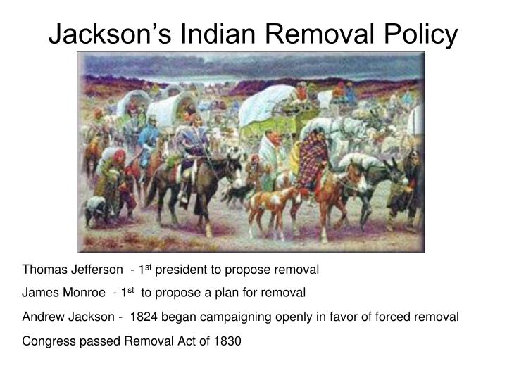 Jackson's Indian Removal Policy