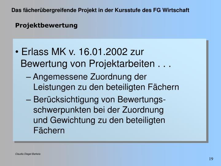 Projektbewertung