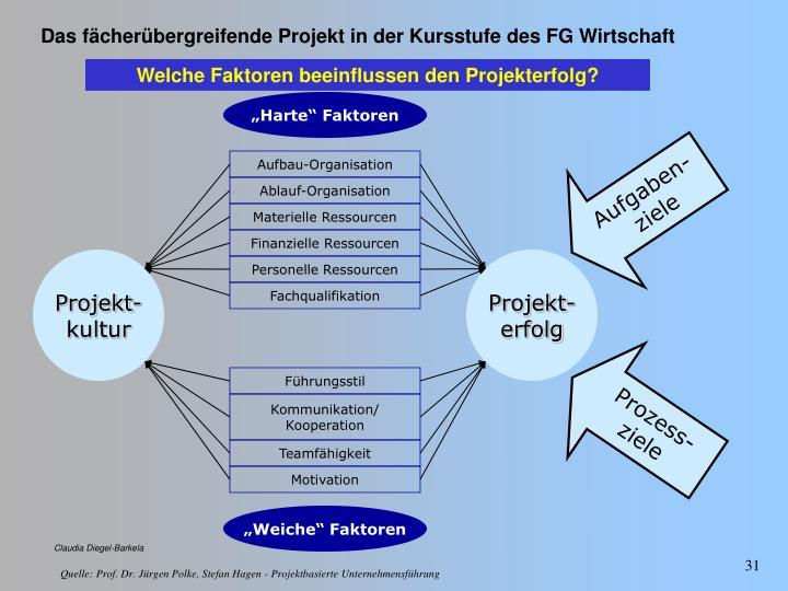 Welche Faktoren beeinflussen den Projekterfolg?
