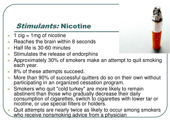 Stimulants: