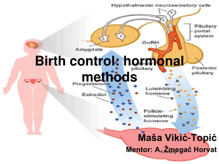 Birth control hormonal methods