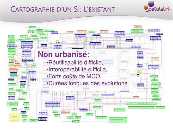Cartographie d'un SI: L'existant