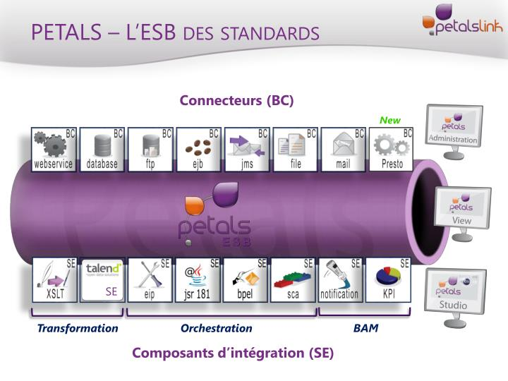 PETALS – L'ESB des standards