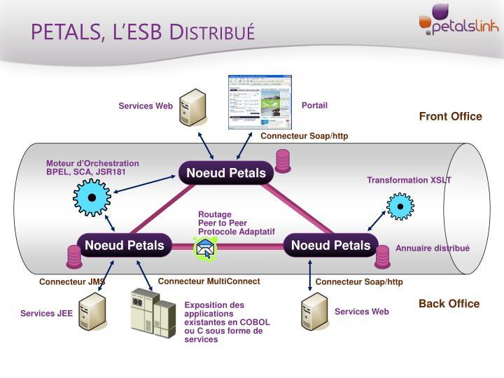 PETALS, L'ESB Distribué