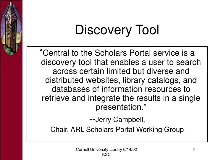 Discovery Tool