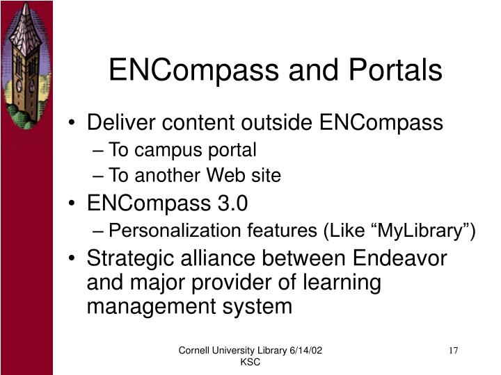 ENCompass and Portals