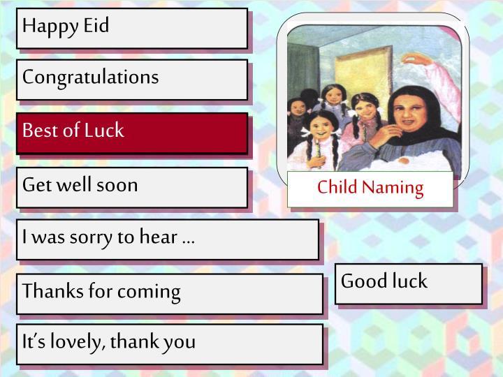 Child Naming