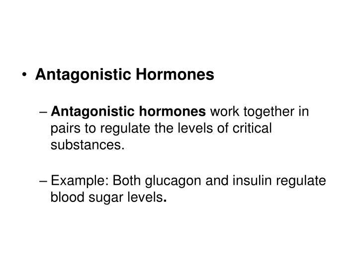 Antagonistic Hormones