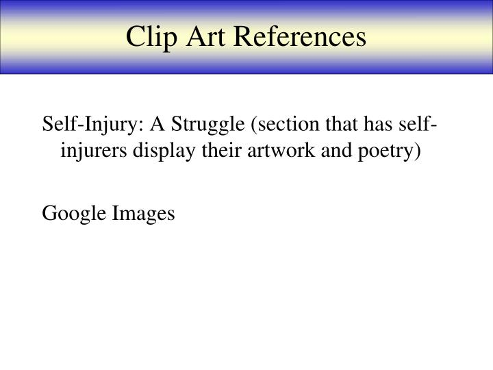 Clip Art References