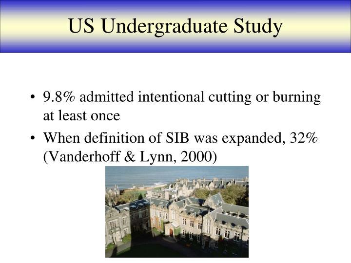 US Undergraduate Study
