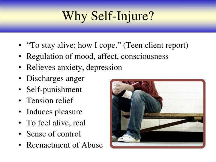 Why Self-Injure?