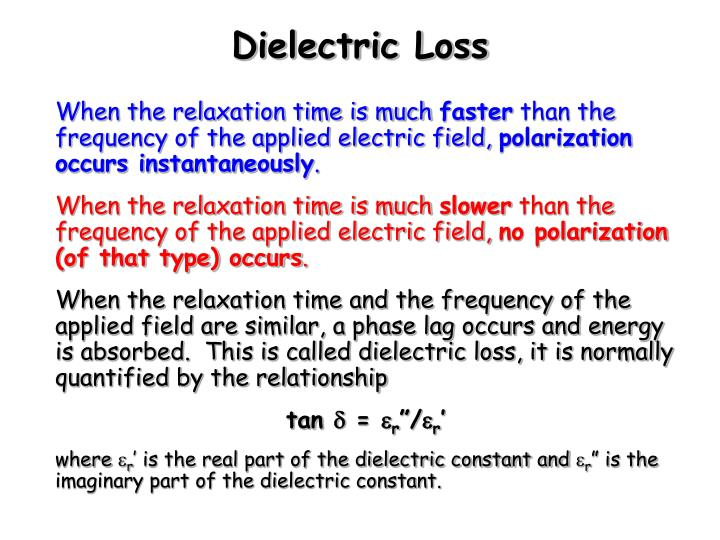 Dielectric Loss