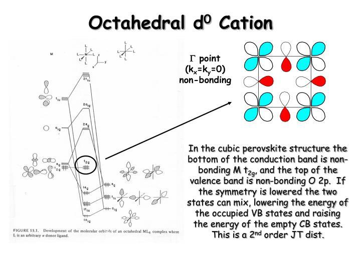 Octahedral d