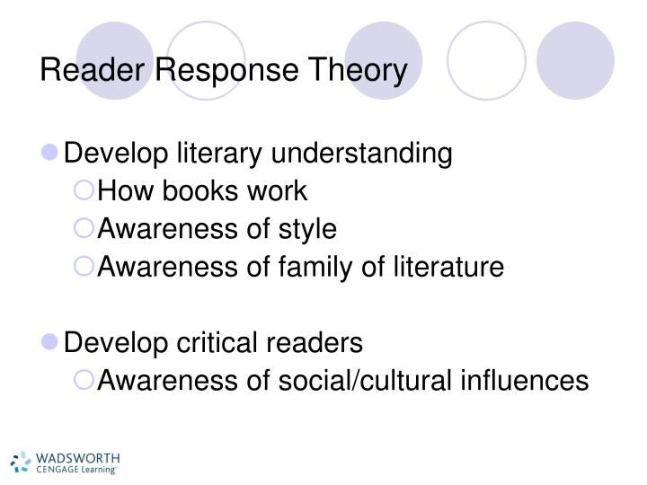reader response 3 The reader response essay: where the reader meets the text reading response essays summarizes what you read gives your reaction to the text your reaction will be one or more of the following: agreement/disagreement with the ideas in the text.