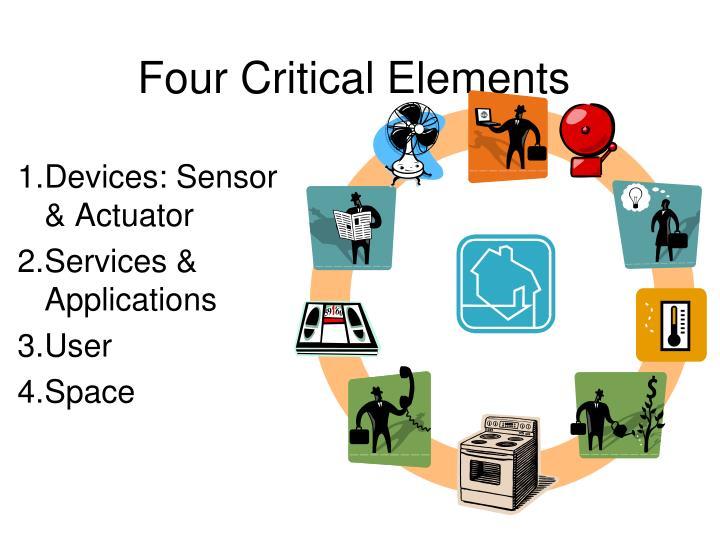 Four Critical Elements