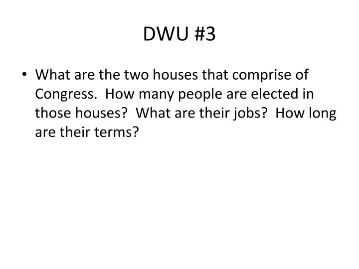 DWU #3