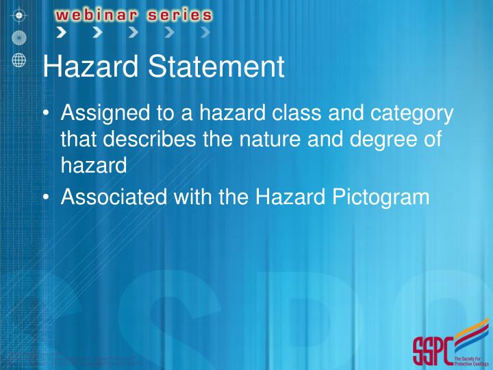 Hazard Statement