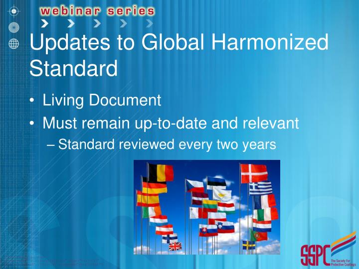 Updates to Global Harmonized Standard