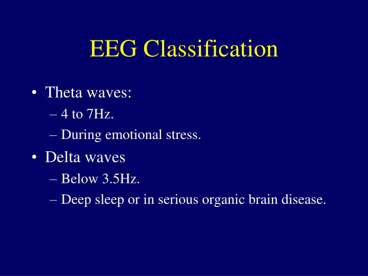 EEG Classification