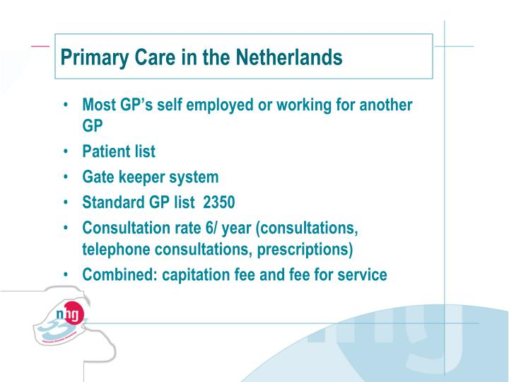Primary Care in the Netherlands