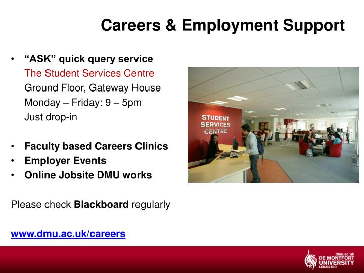 Careers & Employment Support