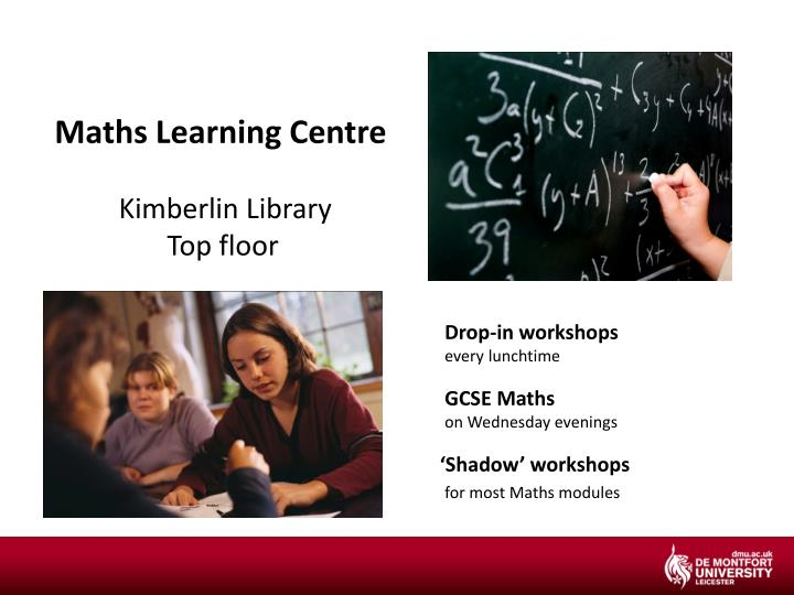 Maths Learning Centre